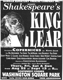New York Times King Lear 8/31/1996